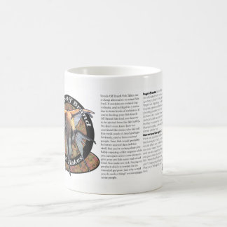 Caneca de café da comida de peixes da marca da