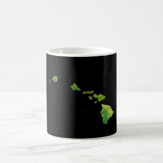 Caneca de café da corrente da ilha havaiana