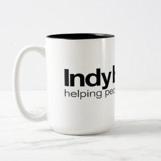 Caneca de café da equipe de casas de Indy