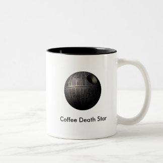 Caneca de café da estrela da morte do café
