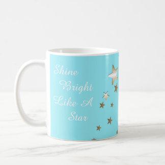 Caneca de café da estrela do Aqua