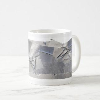 Caneca de café da fita adesiva - o pai fixá-la-á