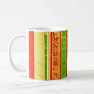 Caneca de café da fita do Natal