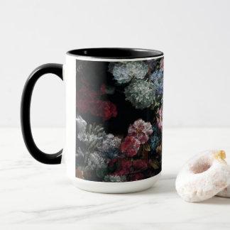 Caneca de café da flor