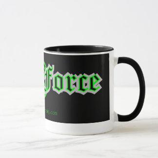 Caneca de café da força do geek