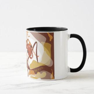 Caneca de café da formiga (Megalomyrmex)