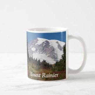 Caneca de café da foto do Monte Rainier