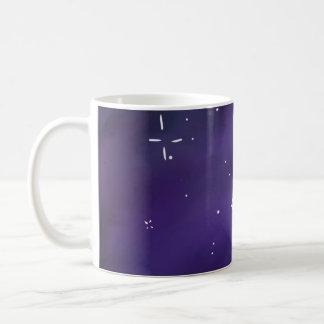 Caneca de café da galáxia