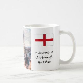 Caneca de café da lembrança - Scarborough,
