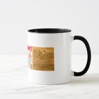 Caneca de café da liberdade U