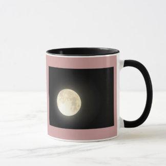 Caneca de café da lua