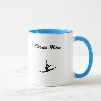 Caneca de café da MAMÃ da dança