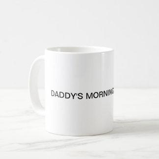 Caneca de café da medicina da manhã do pai