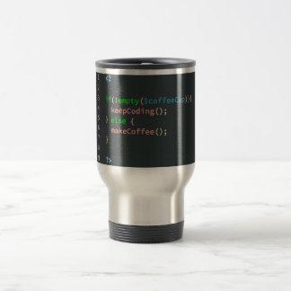 Caneca de café da necessidade - programador de