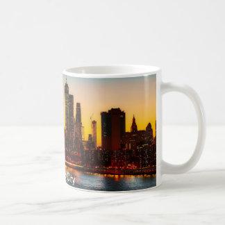 Caneca de café da Nova Iorque, caneca da Nova
