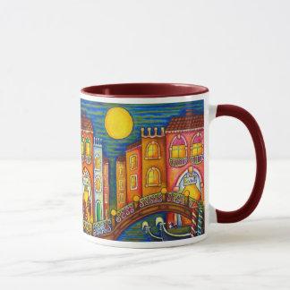 Caneca de café da reunião de Veneza por Lisa