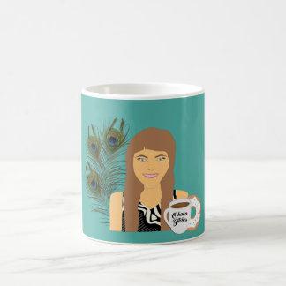 Caneca de café da rosquinha de Gail Ohana