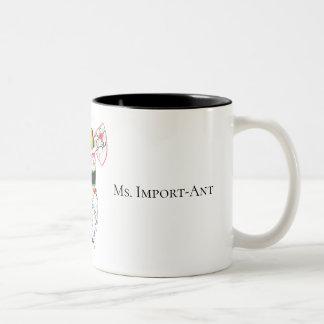 Caneca de café da Senhora Importante