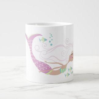 Caneca de café da sereia