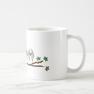 Caneca de café da toutinegra de O-H-I-O