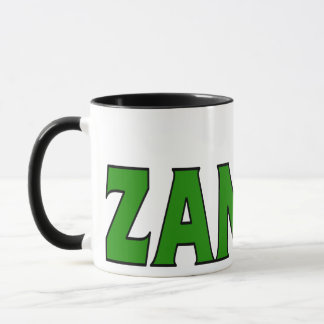 Caneca de café da Zâmbia