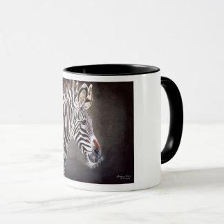 Caneca de café da zebra
