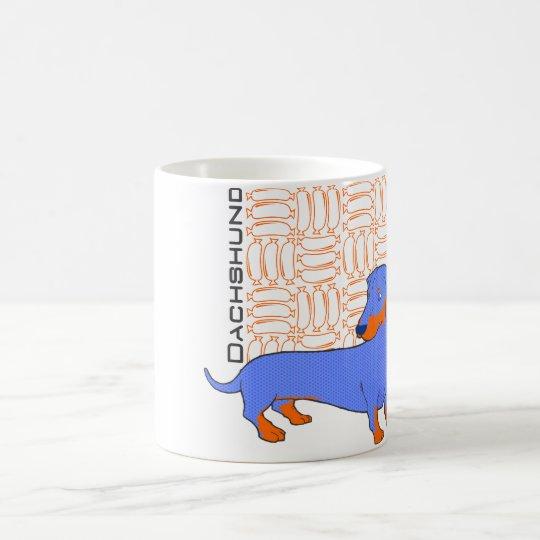 Caneca De Café Dachshund o salsicha
