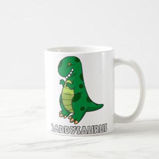 Caneca De Café Daddysaurus
