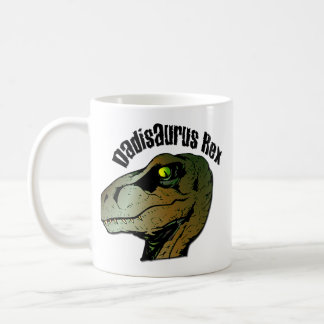 Caneca De Café Dadisarus Rex: Pai você era um monstro