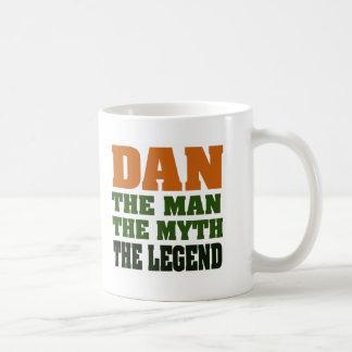 Caneca De Café Dan - homem, o mito, a legenda!