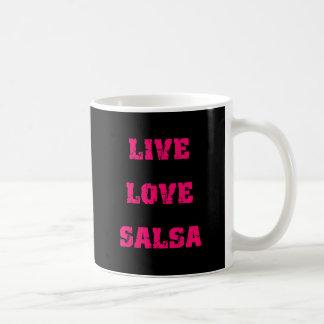 Caneca De Café Dança da salsa