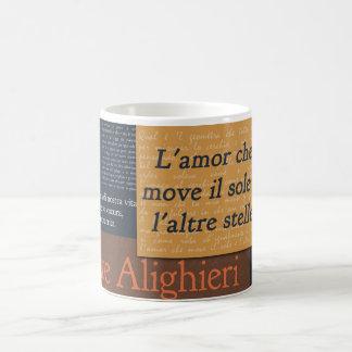 Caneca De Café Dante Alighieri
