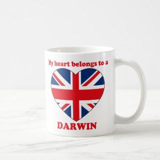 Caneca De Café Darwin