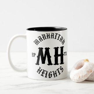 Caneca de café das alturas de Manhattan