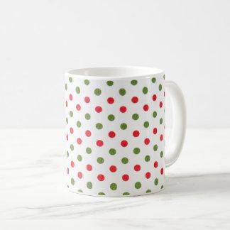 Caneca de café das bolinhas