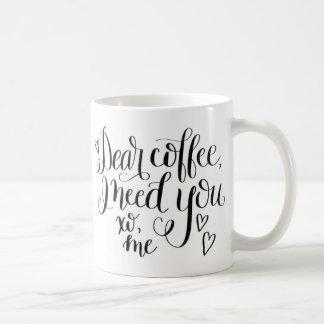 Caneca de café das citações