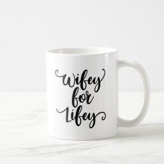 Caneca de café das citações de Wifey