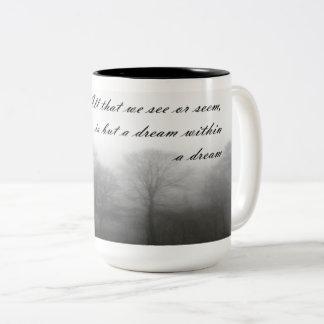 Caneca de café das citações do ponto de entrada