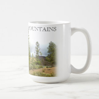 Caneca de café das montanhas 003 de Gran Canaria