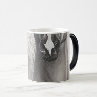Caneca de café das suiças do cavalo