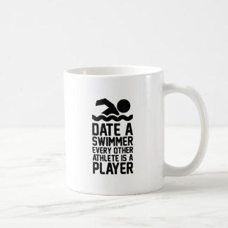 Caneca De Café Date um nadador