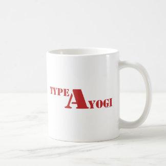 Caneca De Café Datilografe uma engrenagem do iogue
