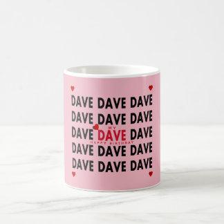 Caneca De Café Dave