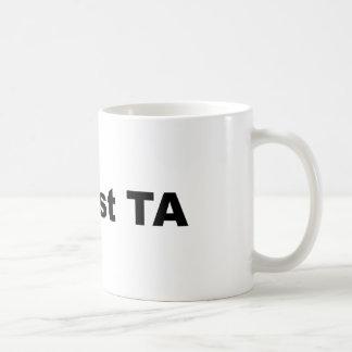 Caneca de café de #1 a melhor Ta