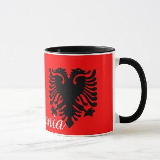 Caneca de café de Albânia