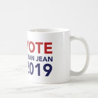 Caneca de café de Brian Jean do voto