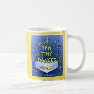 """Caneca De Café De """"caneca dez Dances® minúsculo"""" Corvallis"""