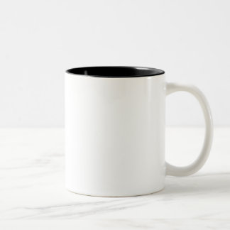 Caneca de café de canto descuidado