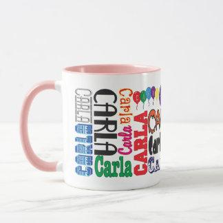 Caneca de café de Carla