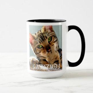 Caneca de café de Catitude do gato de Bengal